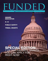 TheApril issue of Grants Office's FUNDED publication