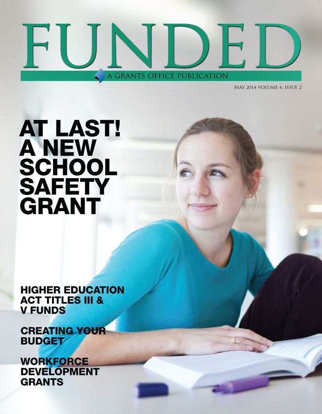 The May 2014 issue of Grants Office's FUNDED publication